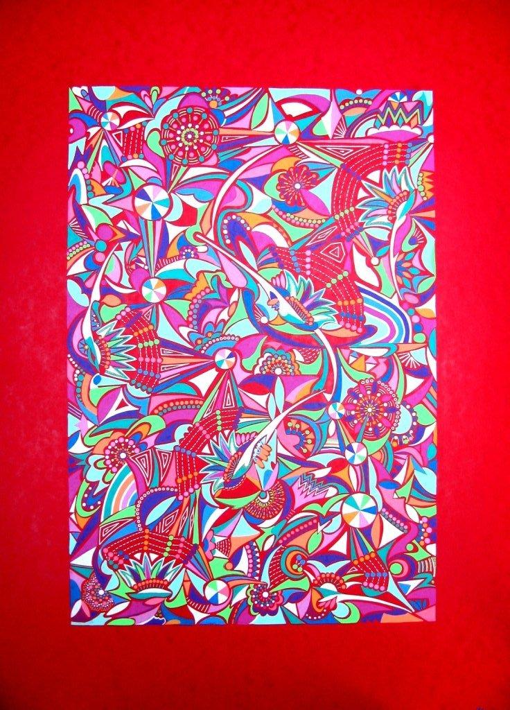 2011-rainbow-red  (70x50)