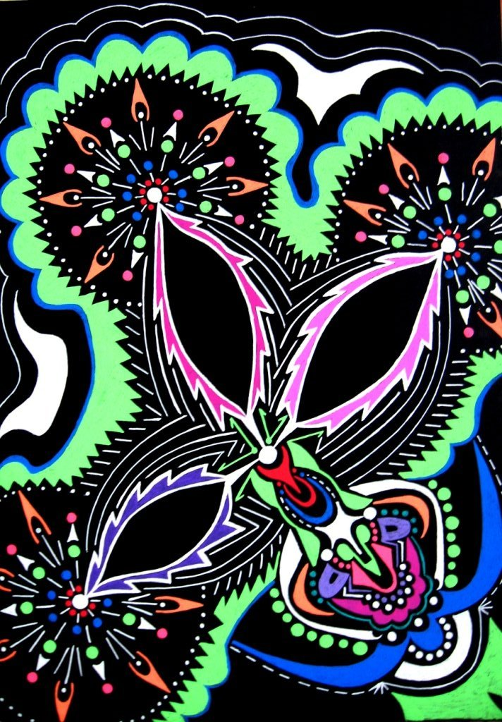 2013g -Night-flower  (29x21)